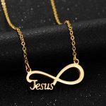 Love Infinity Pendant Necklace
