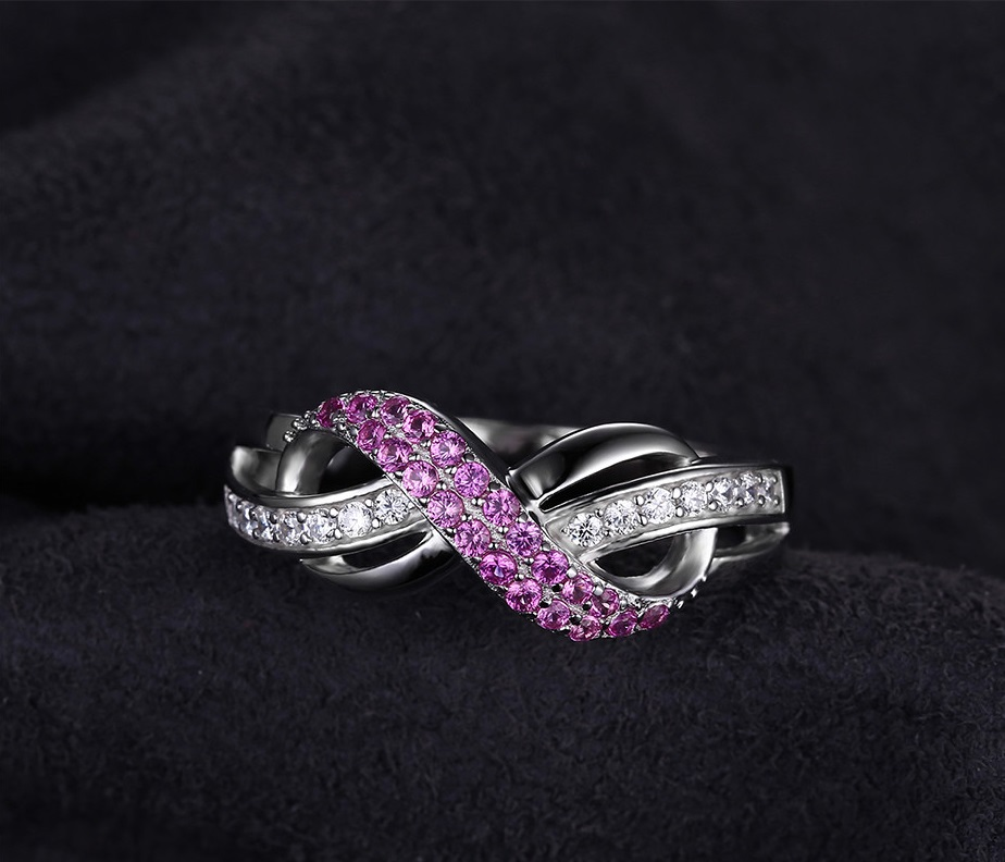 Love Infinity Anniversary Promise Ring